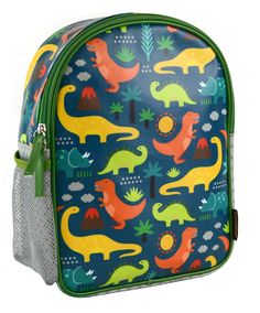 Petit Collage™ Dinosaur Backpack - They'll set out on the right foot every day, proudly wearing their very own backpack. Vibrant Petit Collage™ patterns and careful design distinguish our preschooler eco-friendly backpacks.