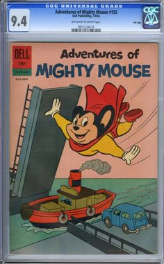 Adventures of Mighty Mouse #155 - File Copy (Dell, 1962)