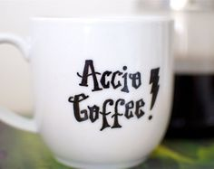 Accio Coffee! - For more pins follow: @OtakuWalker ^-^