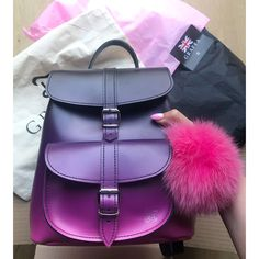 Bags girly i love all of them 😍😍😍😍😍 and you ! Write your co. Cute Mini Backpacks, Stylish Backpacks, Backpack Bags, Leather Backpack, Baby Backpack, Grafea Backpack, Fashion Bags, Fashion Backpack, Fashion Dresses