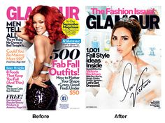 With Redesign, Glamour Ditches Fashion Title Sameness - Consumer @ FolioMag.com