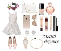"""""""Casual Elegance"""" by tillybushell on Polyvore featuring Rock 'N Rose, Alex Perry, Tory Burch, Incase, Linda Farrow, River Island, Maison Margiela, Chanel, Paco Rabanne and MAC Cosmetics"""