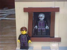 lego live paintinh Halloween scene Lego Halloween, Halloween Scene, Spooky Pictures, Lego Display, Lego Storage, Legos, Tutorials, Live, Lego