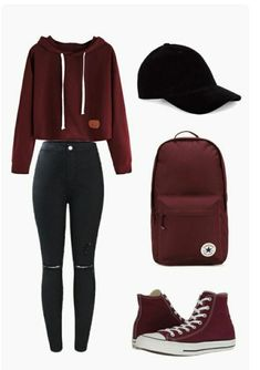 42 Ideas for clothes for teens girls swag fall outfits Teenager Outfits That Will Make You Look Great Cute Teen Outfits, Cute Comfy Outfits, Teen Fashion Outfits, Cute Casual Outfits, Stylish Outfits, Teenage Outfits, Women's Casual, Fashion Ideas, Emo Outfits