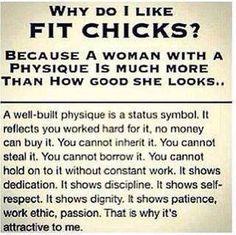 Why Do I Like Fit Chicks?