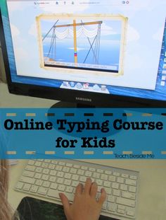TypeKids: Online Typing Course for Kids - Teach Beside Me Online Typing, Teaching Skills, Life Learning, Home Schooling, Lessons For Kids, Homeschool Curriculum, Educational Activities, Kids Education, Elementary Schools
