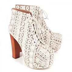 Lita suede lace up platform ankle boots