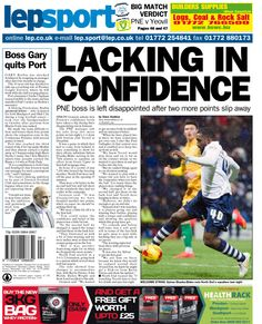 Lacking in confidence - 21/01/15