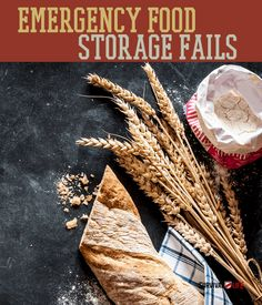 Emergency Food Storage Fails