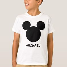 Disney family vacation - mickey add your name t-shirt zazzle Disney Logo, Disney Shirts, Disney Clothes, Disney Theme, Disney Disney, Disney Magic, Family Vacation Shirts, Family Vacations, Family Shirts