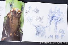 The Art of The Legends of the Guardians: The Owls of Ga'hoole