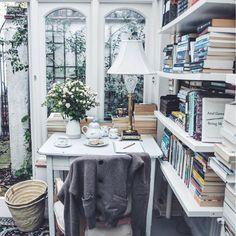A beautiful reading corner