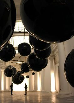 Grand Palais Paris by Anish Kapoor Leviathan