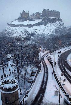 Winter in Edinburgh, Scotland | by ccgd