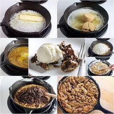One-Pan Skillet Cookie