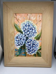 Hortensias from Azores. Acrylic on canvas painting with frame included. Azores, Online Shopping, Canvas, Frame, Painting, Peace, Hydrangeas, Picture Frame, Net Shopping