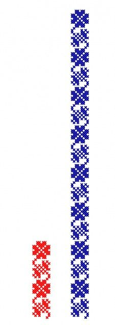 FL169 Cross Stitch Bookmarks, Cross Stitch Borders, Cross Stitch Charts, Cross Stitch Patterns, Folk Embroidery, Embroidery Patterns Free, Cross Stitch Embroidery, Machine Embroidery, Cross Stitch Needles