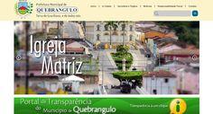 site desenvolvido para prefeitura de quebrangulo