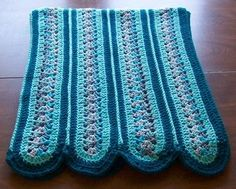 Crochet Mile a Minute Afghan