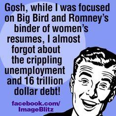 Crippling unemployment and 16 Trillion Debt #ROMNEYRYAN2012