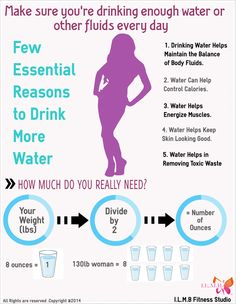 Essential Reason to Drink more Water