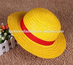 Pirates Wang Lufei Small Straw Hat Without Rope Luffy Hat Straw Hats In The New World, View cartoon cap, donnatoyfirm Product Details from Guangzhou Donna Fashion Accessory Co., Ltd. on Alibaba.com