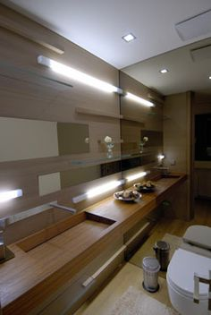 Bathroom with mirror