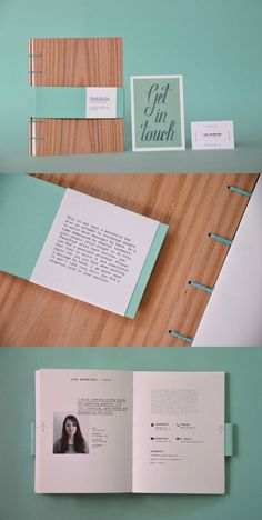 Personal Branding Print Portfolio by Lisa Neureiter