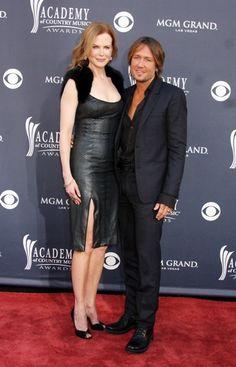 Nicole Kidman and Keith Urban hit the ACM Awards