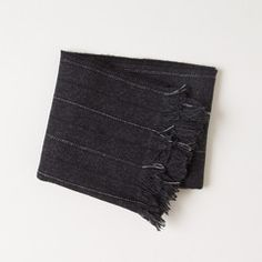 Rag & Bone Mourning Stripe Scarf