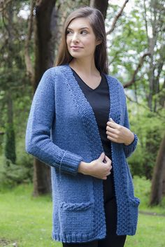 e3be74c7acad2b Ravelry  Saturday Cardigan pattern by Cheryl Beckerich Knit Vest Pattern