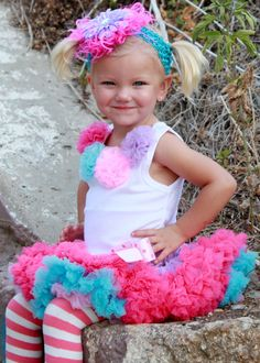 Popsicle Party Pettiskirt...Katy Perry look out!
