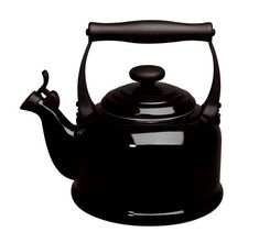 Buy Le Creuset Traditional Kettle Black from eCookshop! We stock a large range of Le Creuset cookware and tableware products all at fantastic prices. Le Creuset Tea Kettle, Traditional Kettles, Le Creuset Cookware, Cast Iron Stove, Brewing Tea, Specialty Appliances, Kitchen Appliances, Best Tea, Tea Pots