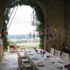 Afternoon tea in the South of France
