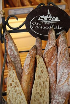 Rustic baguettes, Noirmoutier France This looks so good.  I want some right now with fresh whipped butter.