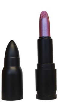 Lacrimosa Lipstick.Cosmetic Bullet Cartridge Shape Design ® By LunatiCK Cosmetic Labs, LLC. All Rights Reserved.