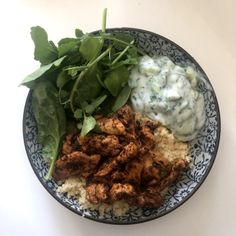 An easy dinner-time or lunch-time (for some even a breakfast-time) recipe. Easy to prepare and easy to cook. Moroccan Spices, Moroccan Chicken, Tzatziki, Smoked Paprika, Spice Mixes, Breakfast Time, Lunch Time, Couscous