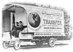 Early Moving truck