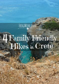 4 different hikes to enjoy beautiful landscapes and hidden swimming coves in Crete! Hikes range from short (0.5 mile) to long (10 miles) and are sorted by theme so you can choose the one that fits your mood. All kid- and grand-parent-approved. Crete offer