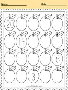 Free Printable Kindergarten Math Worksheets - Practice Adding and Counting  #KindergartenMathWorksheets Printable Counting Worksheet for Kindergarten #worksheets #printableworksheets #kids #education #kindergarten #worksheetsforkindergarten #freeprintableworksheets