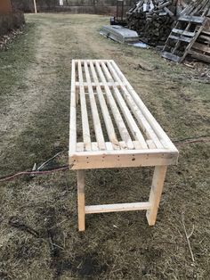 How To Build a Greenhouse Bench For Under 20 Dollars Greenhouse Benches, Backyard Greenhouse, Greenhouse Plans, Heating A Greenhouse, Bench Plans, Farm Gardens, Picnic Table, Outdoor Furniture, Outdoor Decor