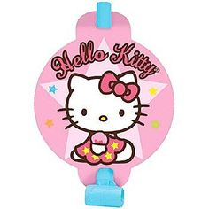 Hello Kitty Balloon Dream Blowouts  Favors 8ct >>> Find out more about the great product at the image link.Note:It is affiliate link to Amazon.