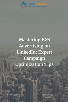 Mastering Advertising on LinkedIn: Expert Campaign Optimization Tips How To Attract Customers, Competitor Analysis, Inbound Marketing, Growing Your Business, Campaign, Advertising, Social Media, Tips, Inspiration
