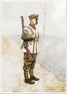 WW1 - western front - winter 1914-1915 British sgt by AndreaSilva60 on DeviantArt