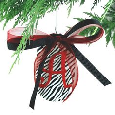 Designer Acrylic Christmas Ornament