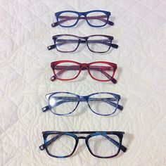 A colorful set of choices in @cassiacborges's #WarbyHomeTryOn.