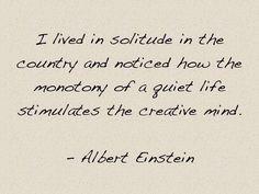 A quiet life...