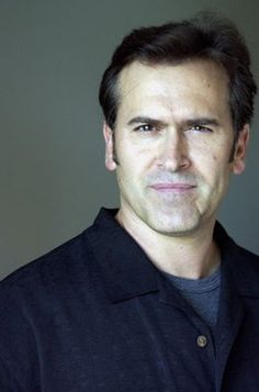 Bruce Campbell - a wonderful edge to his work, be it horrifying or funny