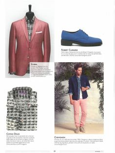 Homme Deluxe France - April 2015 - Gian style #robertclergerie #hommedeluxe #derby
