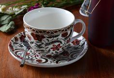 V&A Coromandel Coast Fine China Breakfast Cup & Saucer Set Breakfast Cups, Victoria And Albert Museum, Cup And Saucer Set, Fine China, Afternoon Tea, Tea Cups, Coast, Mugs, Coffee